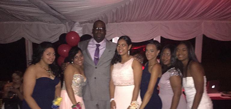 Prom Night 2015 with New Heights Softball Team