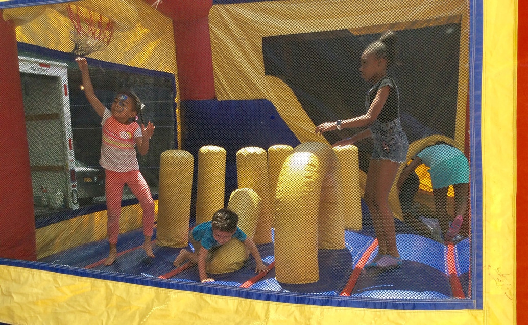 The Children enjoyed themselves greatly.