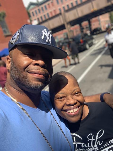 New Springfield MBC Health Fair 2019 - Rev. Morris & her son