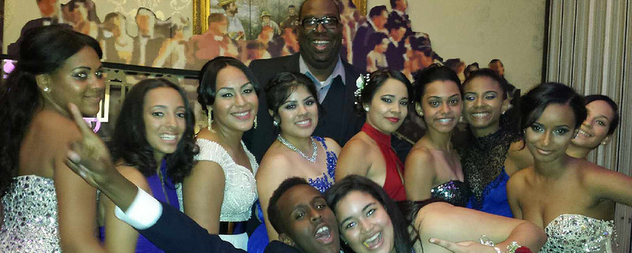 Prom Night 2014 with first New Heights graduating class