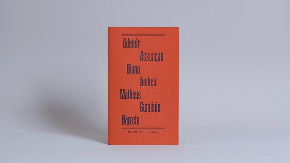 Plaquete Vozes, Versos / Ademir Assunção, Diana Junkes e Matheus Guménin Barreto