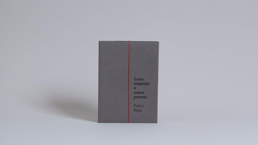 Coisa esquisita e outros poemas / Pedro Rego