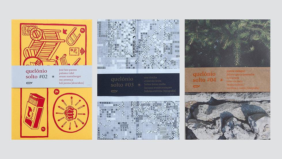 Combo Quelônio Solto #  2, 3 e 4 /vários autores e artistas