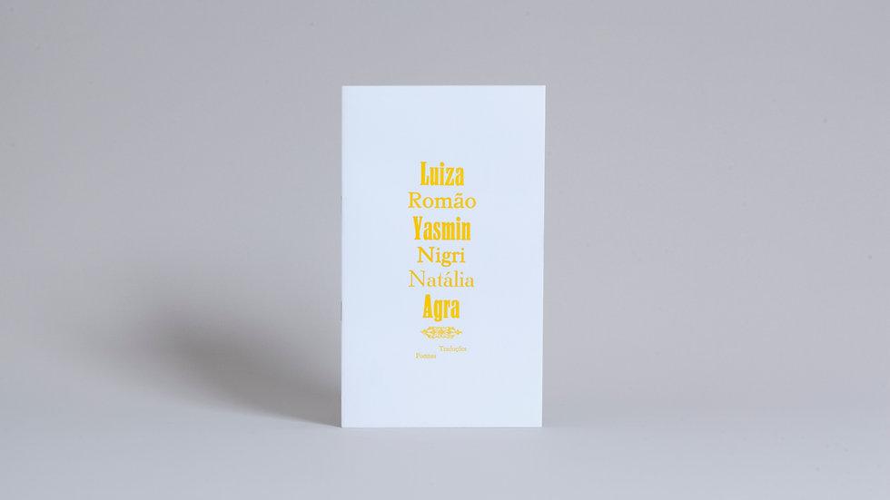 Plaquete Vozes Versos / Yasmin Nigri, Luiza Romão e Natália Agra