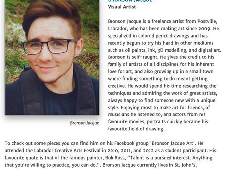 Labrador Creative Arts Festival 2017