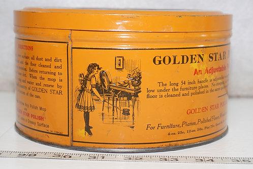 Golden Star Polish Mop Tin