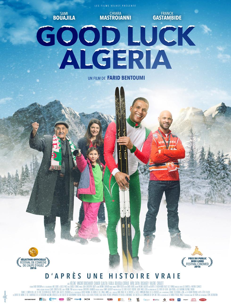 GOOD LUCK ALGERIA                      dossier de presse