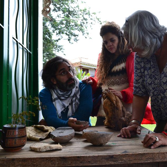 Encuentro artistas locales - Marta Campo (escultora)