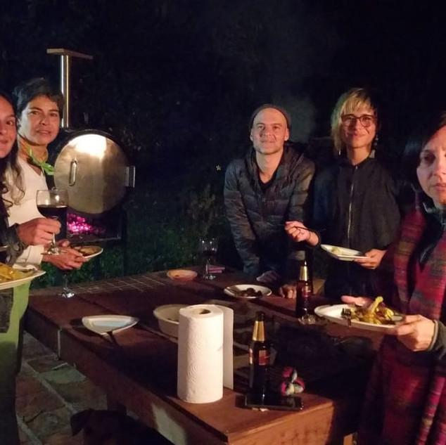 Noche de fuego en NARA