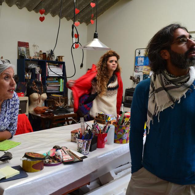 Encuentro talleres de artistas
