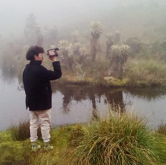 Caminata laguna sagrada de Iguaque