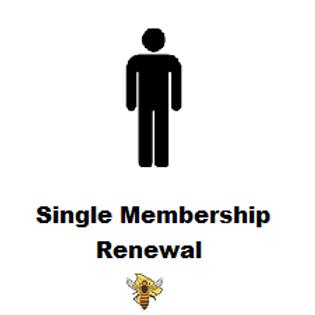 Single Membership Renewal for 2021