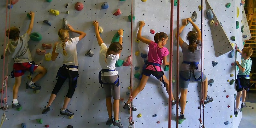 Rock Climbing at High Point Climbing and Fitness