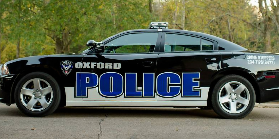 Oxford Police Department Tour - Group 1 & 2