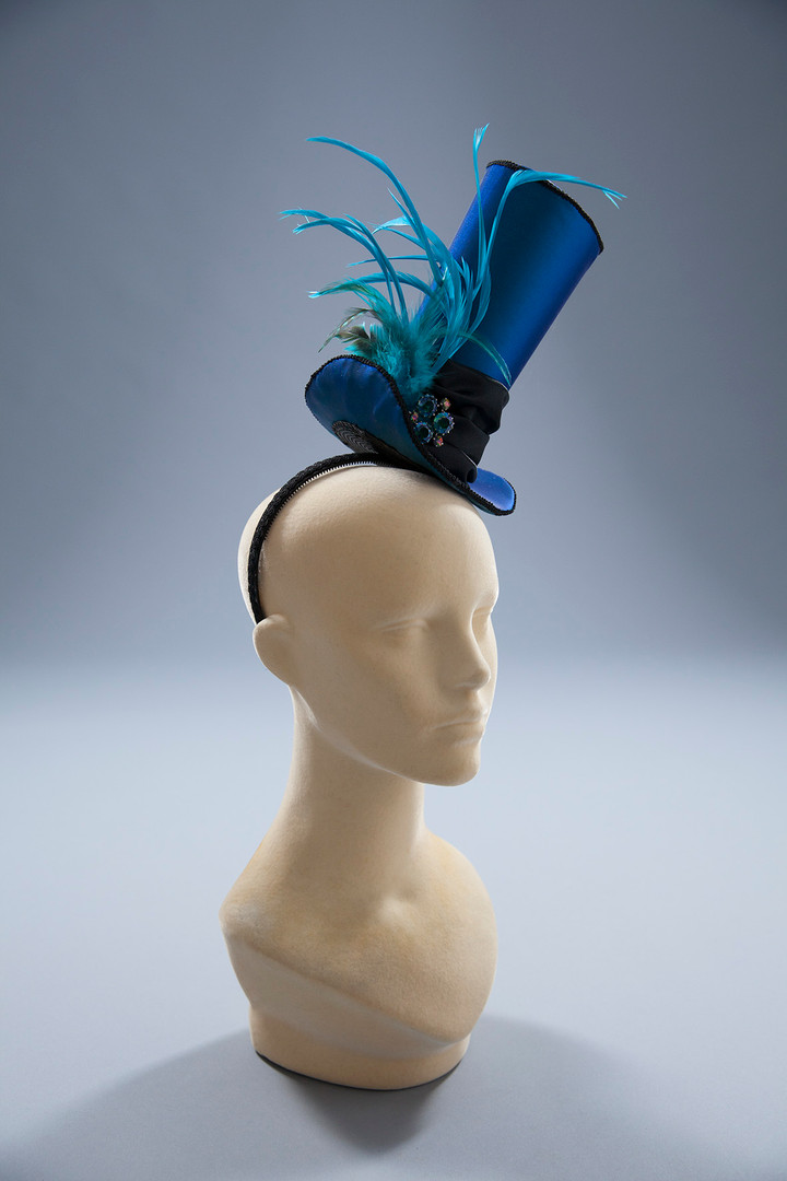 Suede Studios blue satin top hat.jpg
