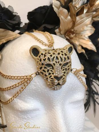 Suede Studios Black & Gold Headdress 2 s