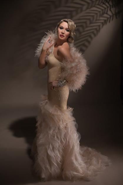 Photographer: Vanessa Wood Designer: Vanessa Burton Model: Gracie Taylor