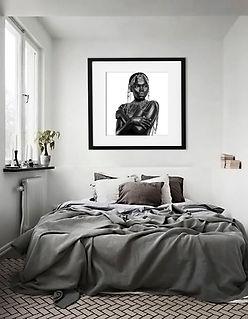 Suede Studios Congo Series 5 white wall.
