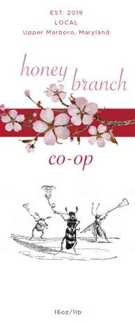 Honey Branch Co-op Label