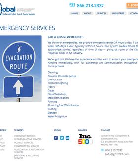 GFM  Emergency Services After