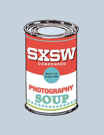 Comissioned Design SXSW Soup 2014 Poster