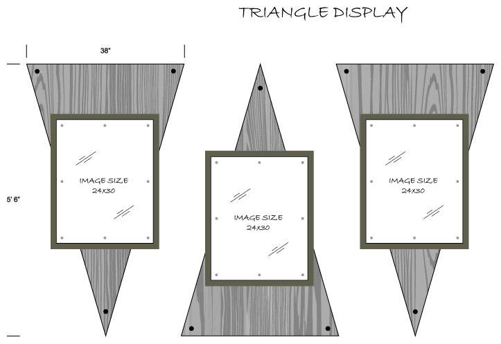 Triangle Display