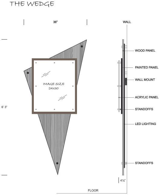 "TAVART ""Wedge"" Design"