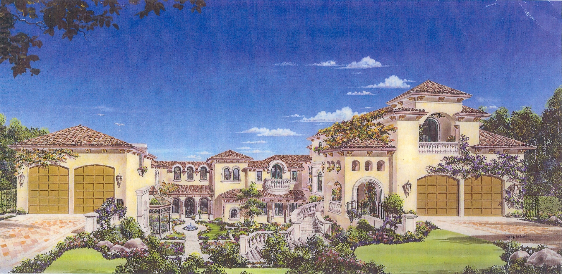 Rendering of Seaside Estate