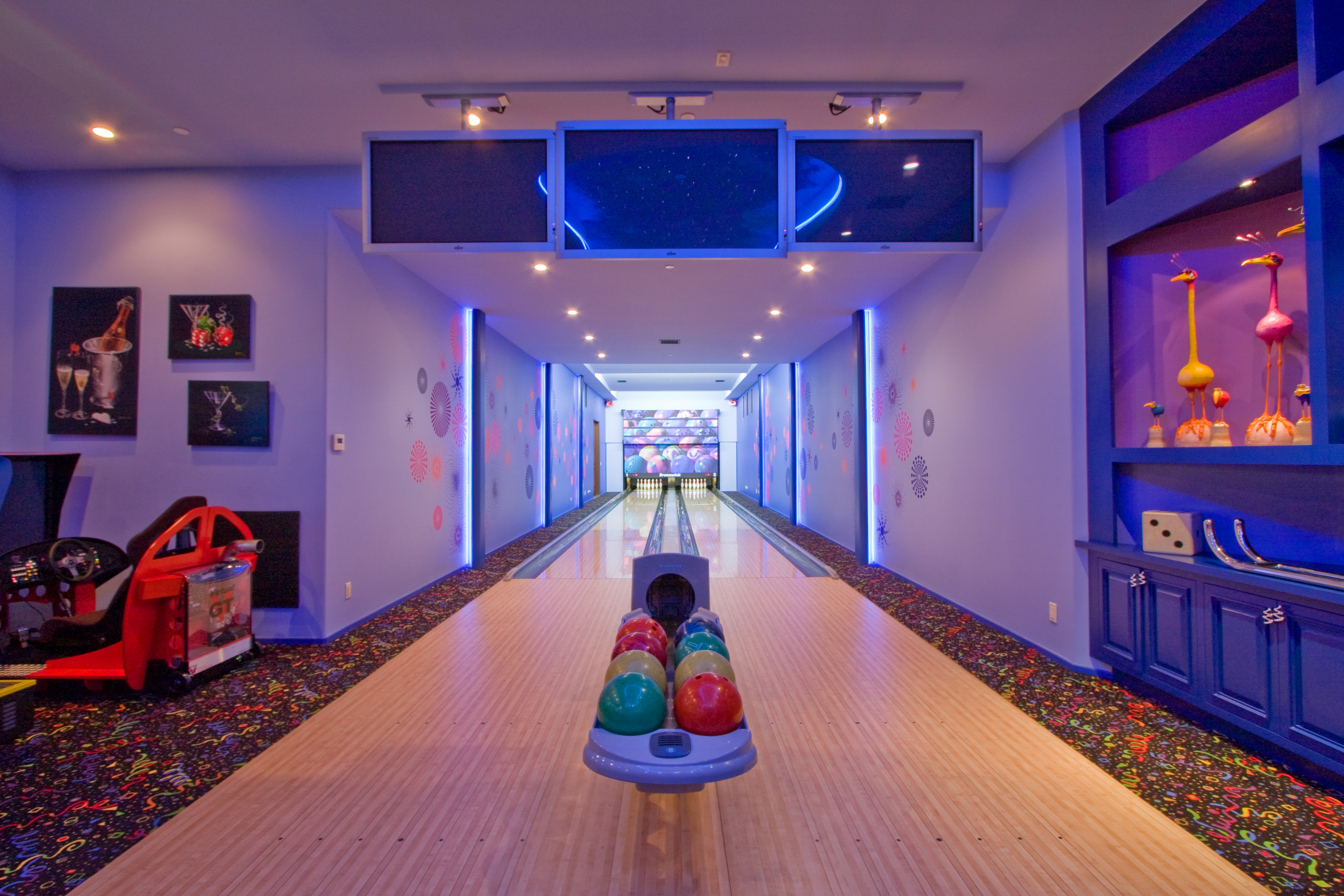 Bowling Alley and Arcade