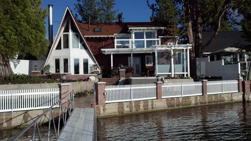 Lakefront Home