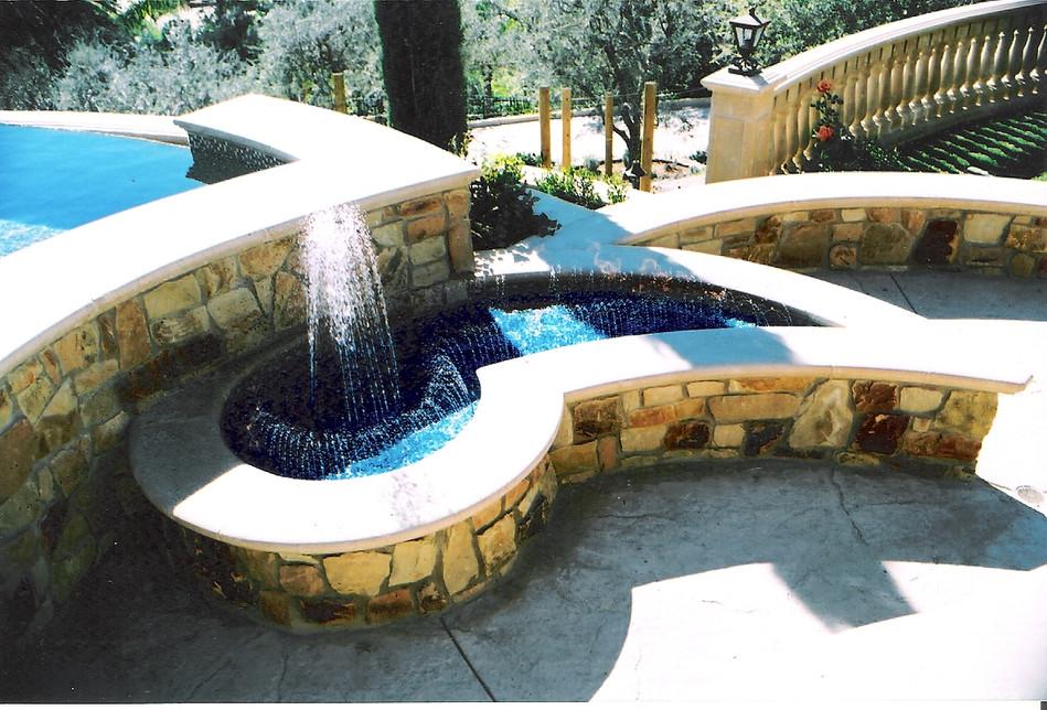 Firepit Water Fountain