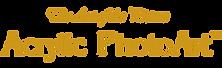 acrylic photo art logo