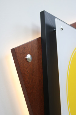 Layered Panels create Depth