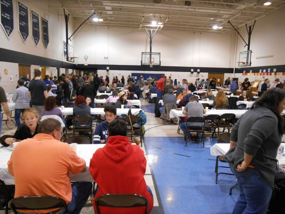 Spaghetti Dinner 2017 Crowd