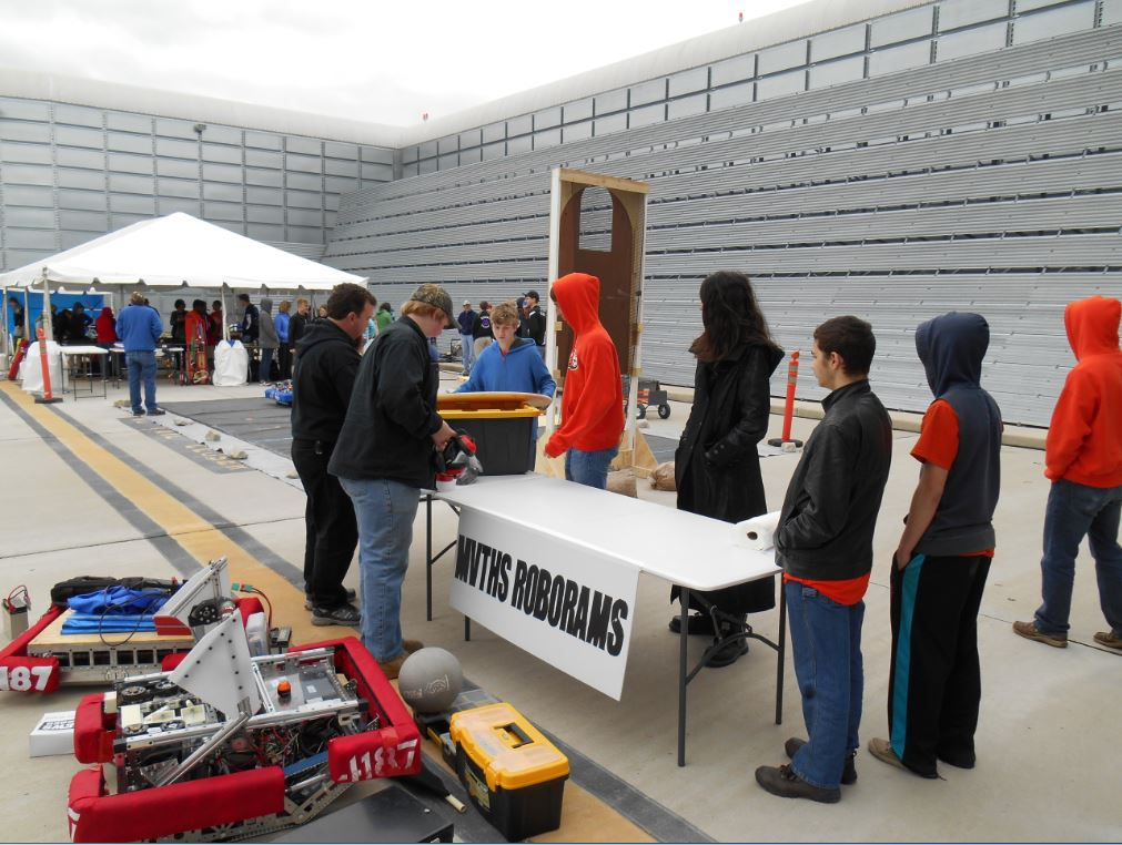 Demonstrating Our Robots at the Air Show in St. Louis 2