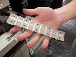 A heatsink made on Tormach CNC