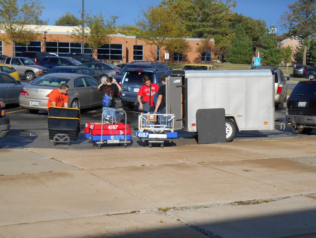 Loading up after a Competition