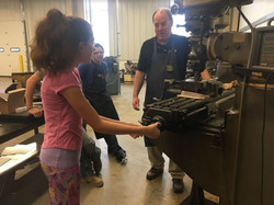 Learning to operate a Milling Machine