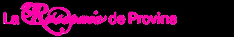 La Roseraie de Provins - logo - vecteur