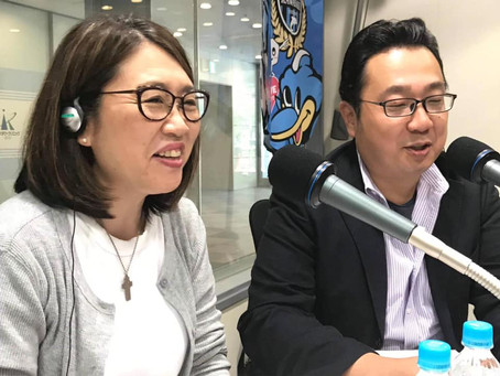 かわさきFMの生放送に出演