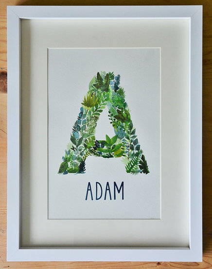 Foliage Monogram