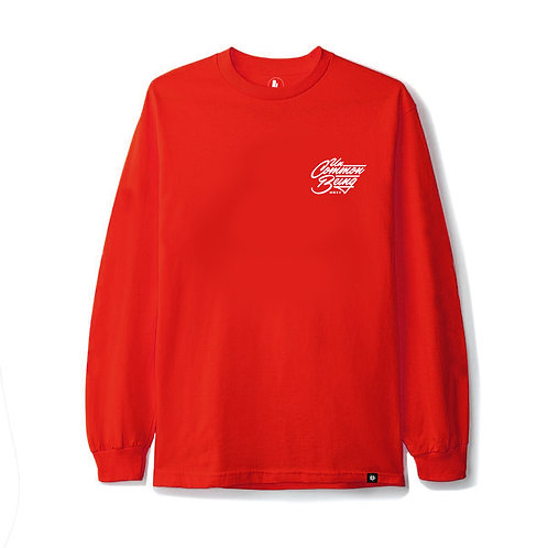 Authentic L/S Red T-Shirt
