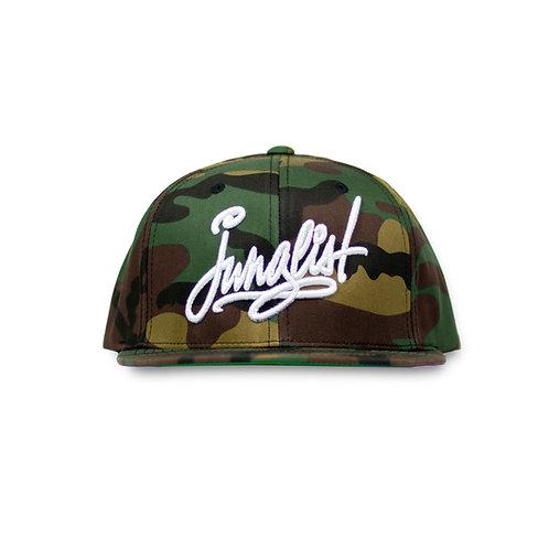 Junglist Script Snapback Hat