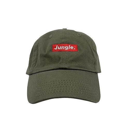 Junglist Essential Cap Olive Green