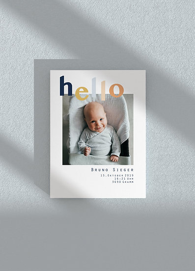 BIRTHCARD | hello