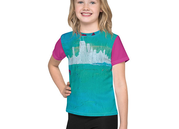 Chicago Skyline Kids T-Shirt