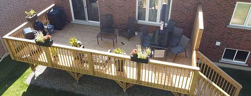 Barrie Deck Build
