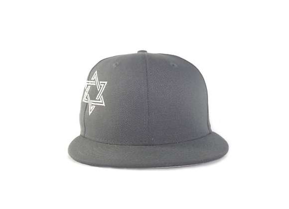 Custom Star of David Decky Flat Bill Snapback