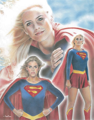 Helen Slater Supergirl Illustration_SM w