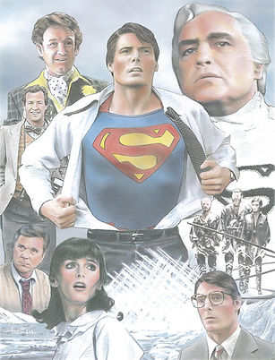 C.Reeve Superman Illustration